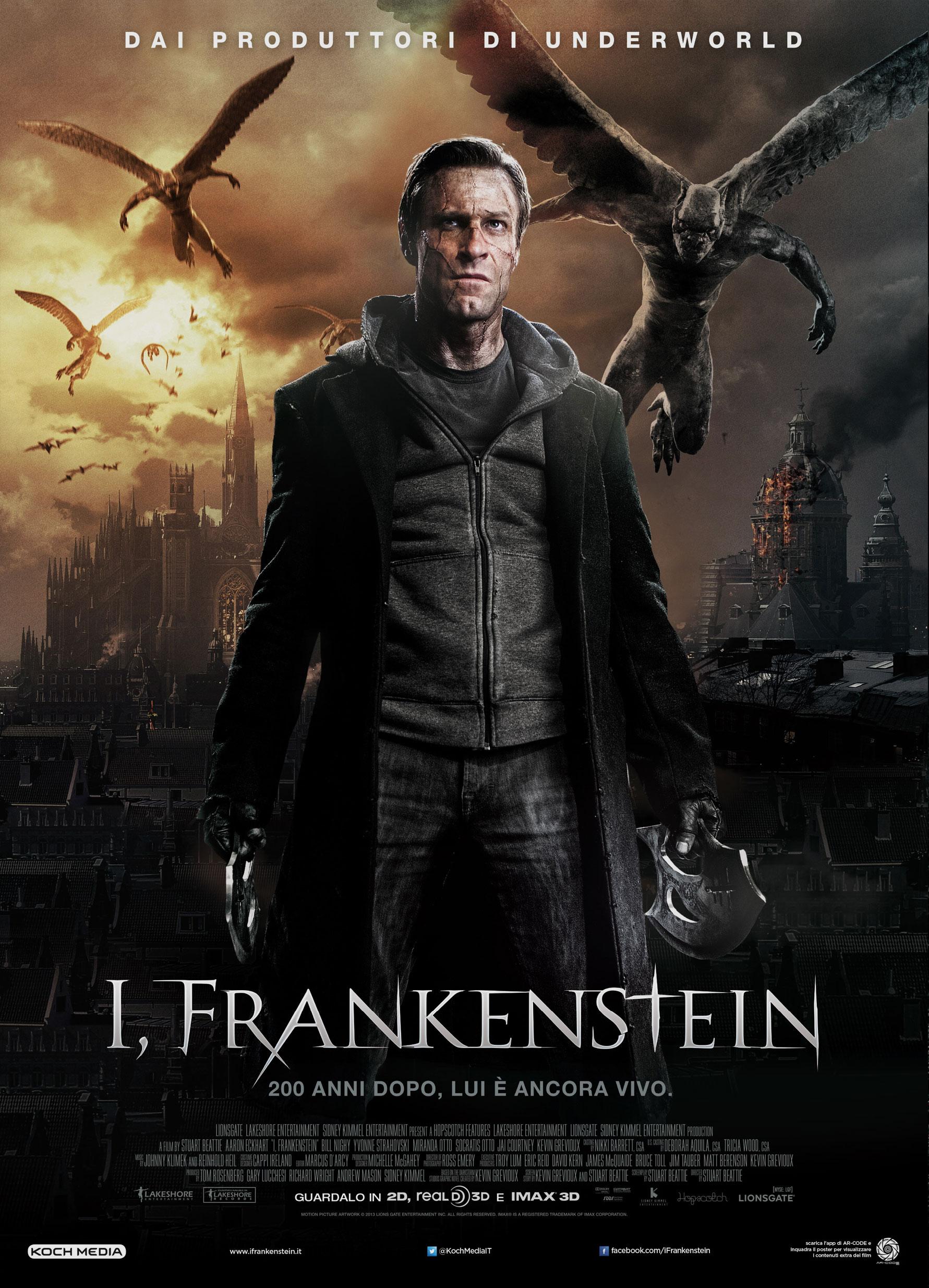 Vertigo Movie AdvertisingI, Frankenstein - Vertigo Movie ...